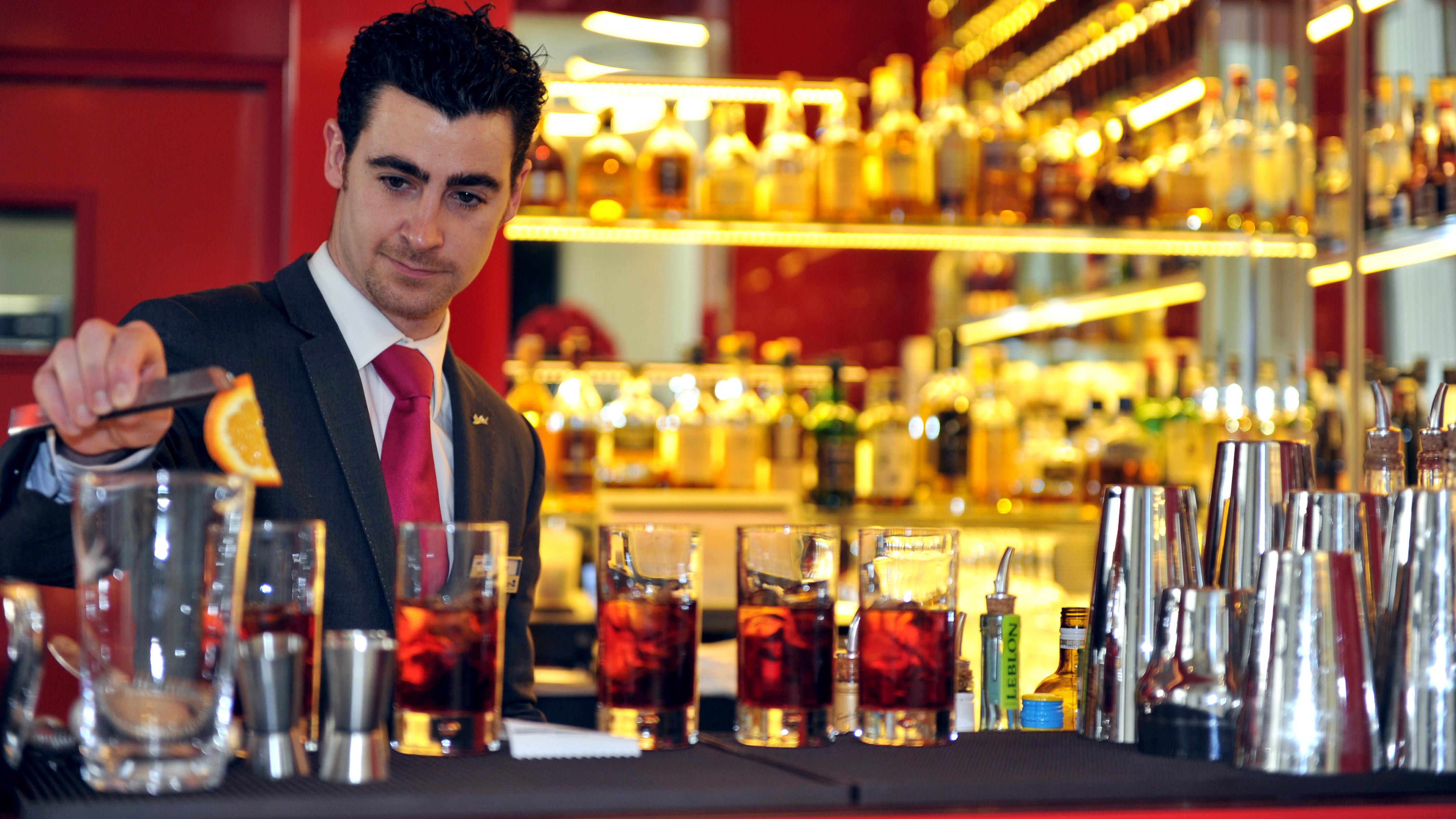 Sample Bartender Resume Example